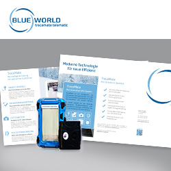 Blueworld GmbH - Webseite TraceMate